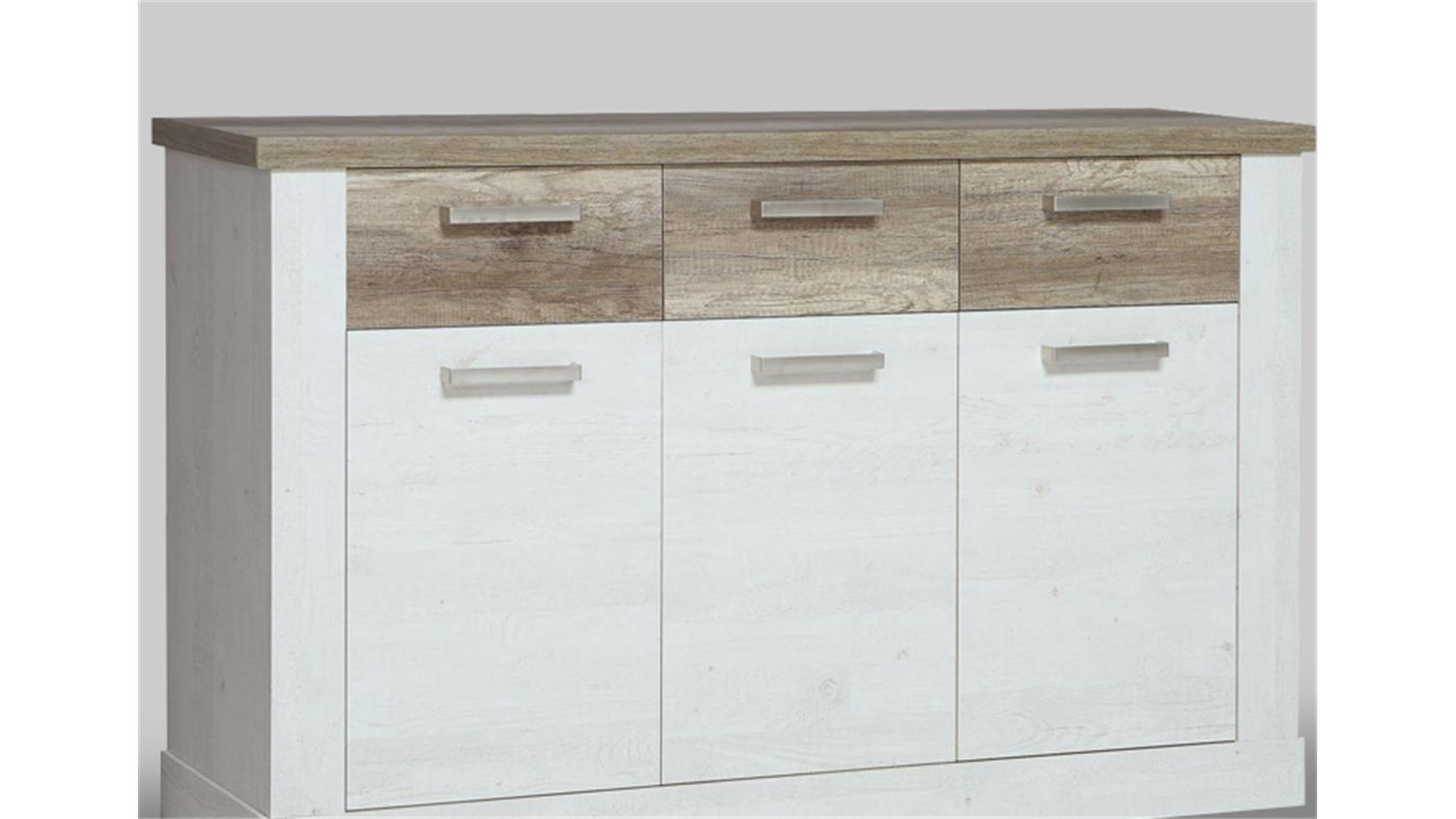 Sideboard Eiche Hell Landhausstil Sideboard Eiche Wei Interesting Affordable Full Size Of Sideboard