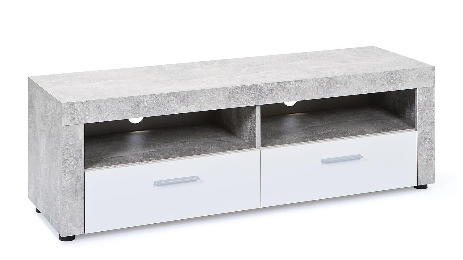Tv Schrank Beton Tv Board Betonoptik. Pharao24 Tv Board In Grau Betonoptik