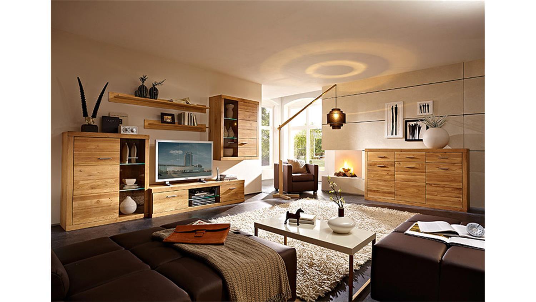 wohnzimmer wildeiche massiv modell rockydurham