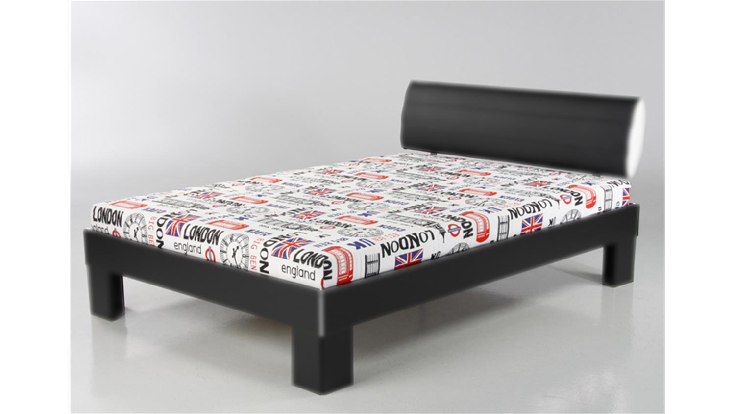 Futon Sessel Futonmatratze 140 X 200cm Bezug Design London