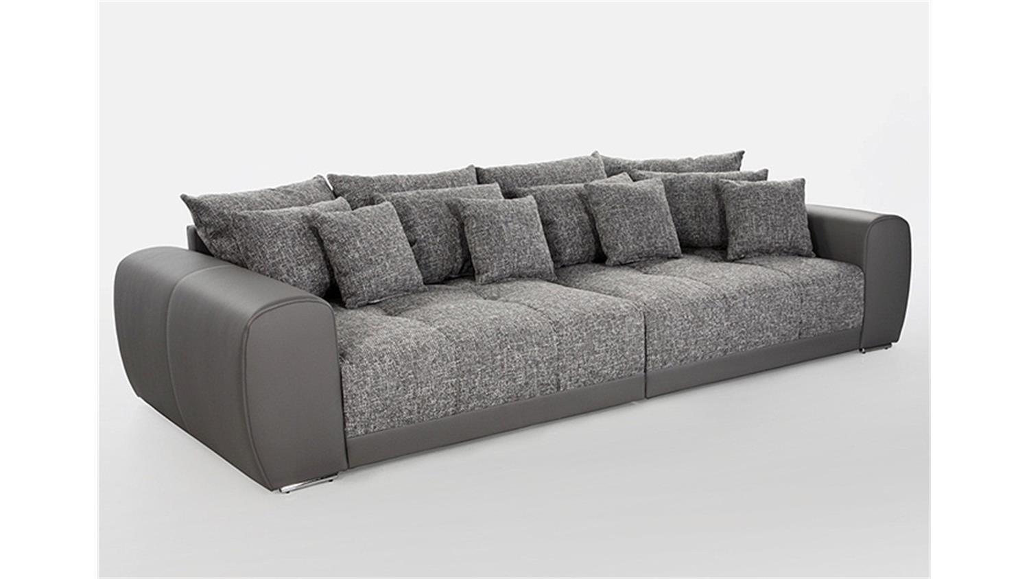 Big Sofa Möbel Xxl Big Sofa Sam Polstermöbel Xxl Sofa In Grau Hellgrau 310 Cm