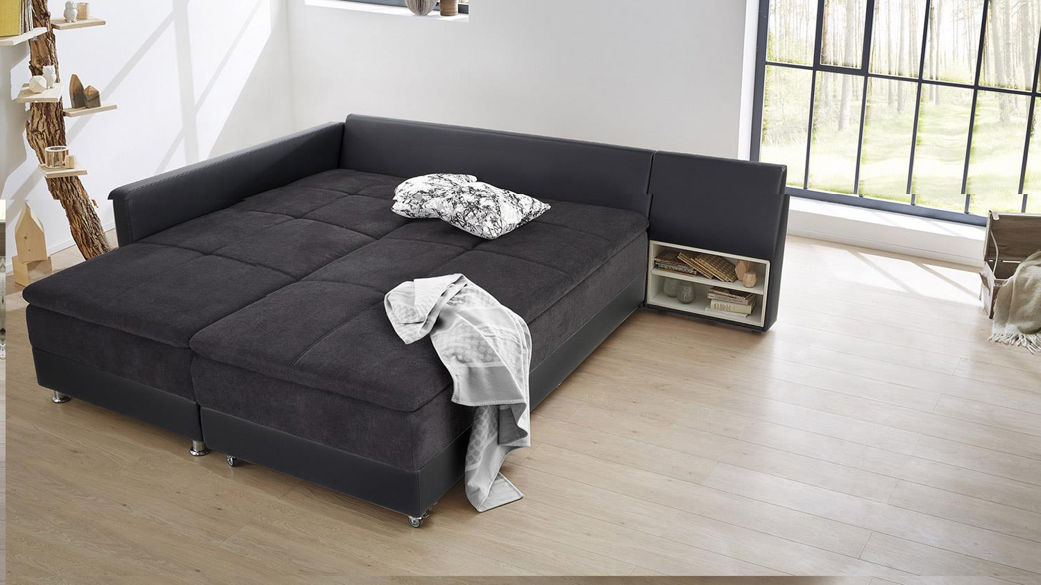 Bett Couch Sofa Und Bett In Einem Fabulous Amazing Excellent Xxl