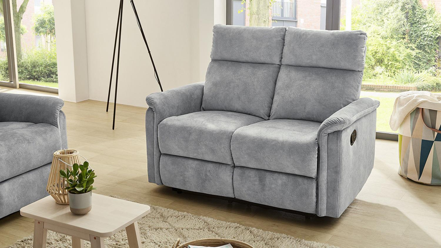 Sessel 2 Sitzer Sofa Amrum Sessel Relaxsessel 2 Sitzer Mit Funktion