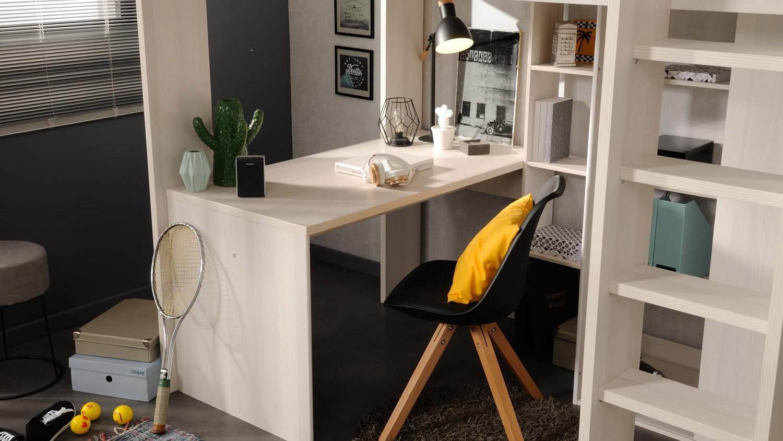 Etagenbett Mit Schreibtisch Günstig : Etagenbett mit schreibtisch jugendzimmer hochbett schöne