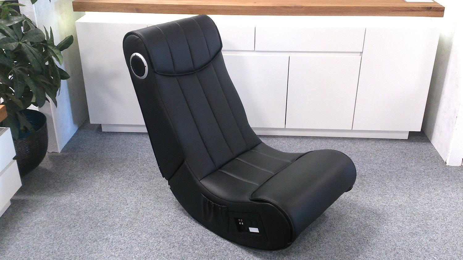 Ps3 Sessel Gaming Chair Soundz Für Playstation Xbox Wii In Schwarz