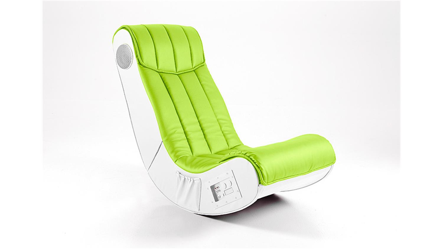Sessel Playstation Soundsessel Gaming Chair Soundz Lime Weiß Playstation Xbox Wii