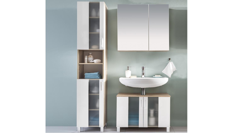 Badezimmer Spiegelschrank Porta | Badezimmer Bad Unterschrank ...