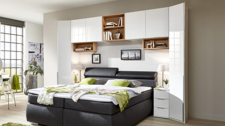 überbau Schlafzimmer Nolte