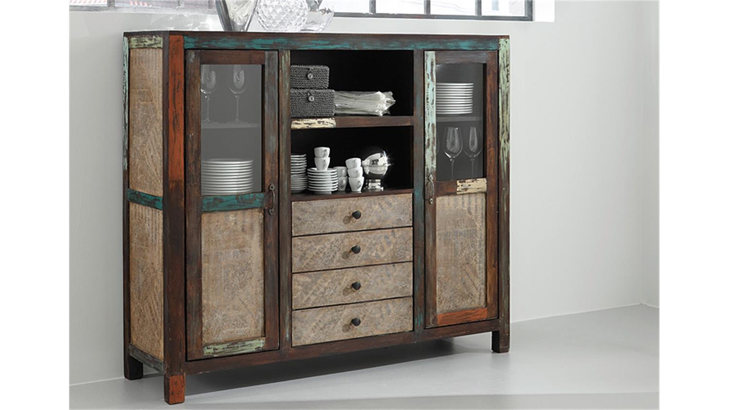 Sessel Rolf Benz Freistil Highboard Goa Von Wolf Möbel In Massivholz Mango