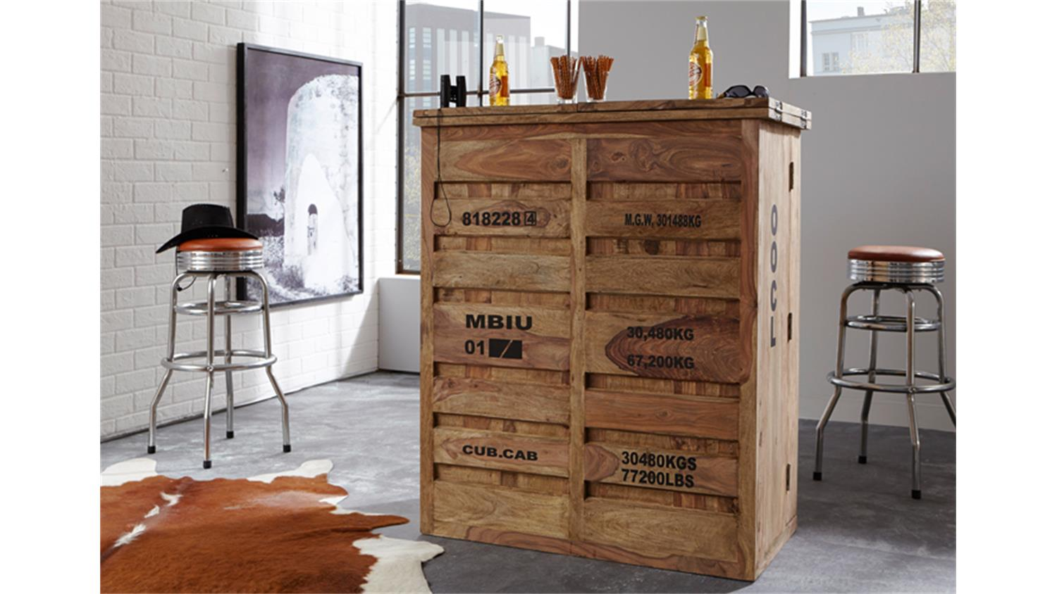 Möbel Design Programm Bar 6909 Container Von Wolf Möbel Massivholz Sheesham Natur
