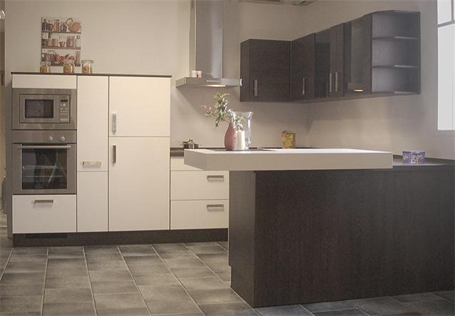 Küche U Form Fenster