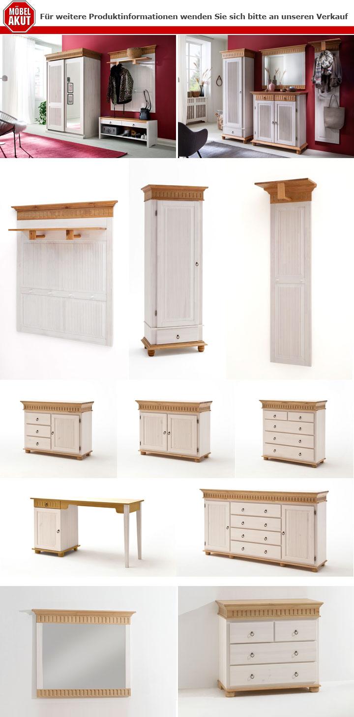 details zu schreibtisch helsinki tisch kiefer massivholz weiss natur schlafzimmer landhaus