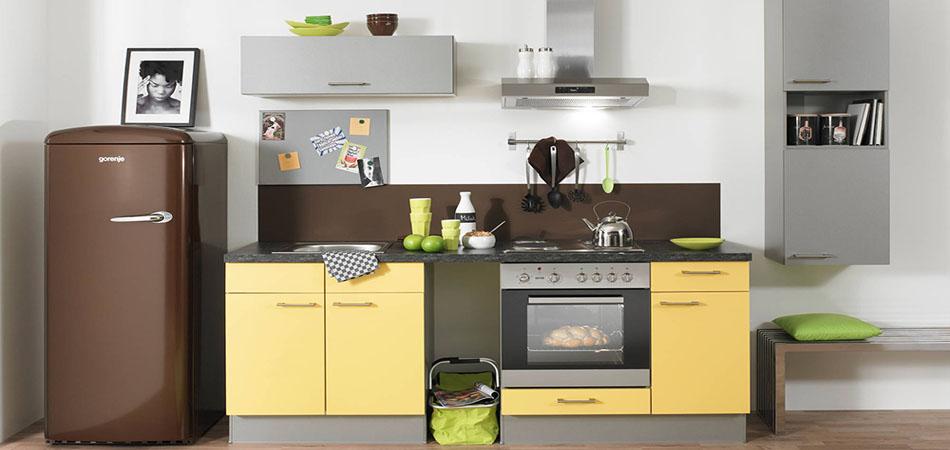 Kleine Küchen - wenig Platz, volle Funktion, Küchen bei Möbel Kraft - schmale fenster kuechen gestaltung
