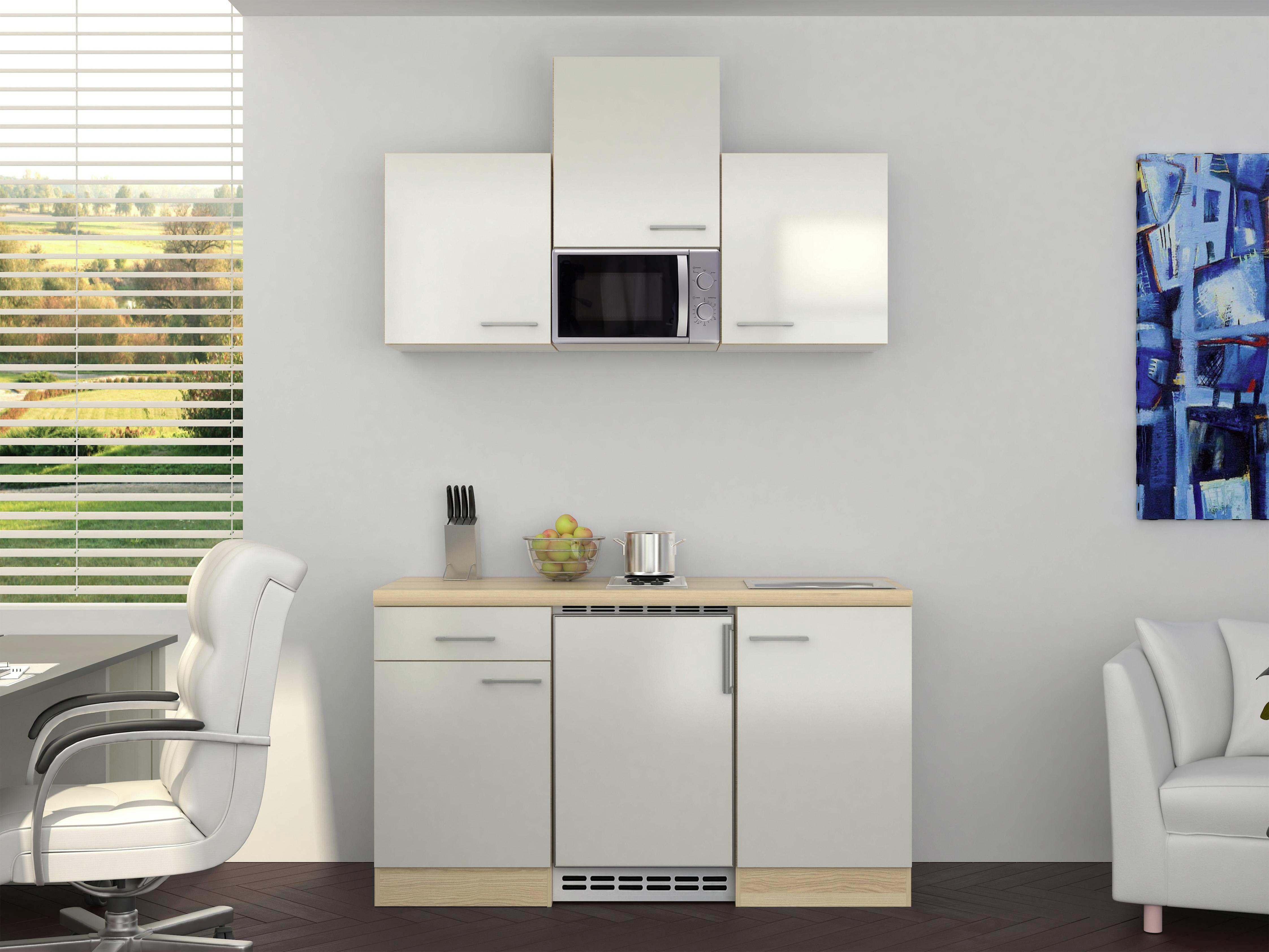 Mini Kühlschrank Möbelix : Küche 150 cm mit kühlschrank einbauküchen große auswahl porta