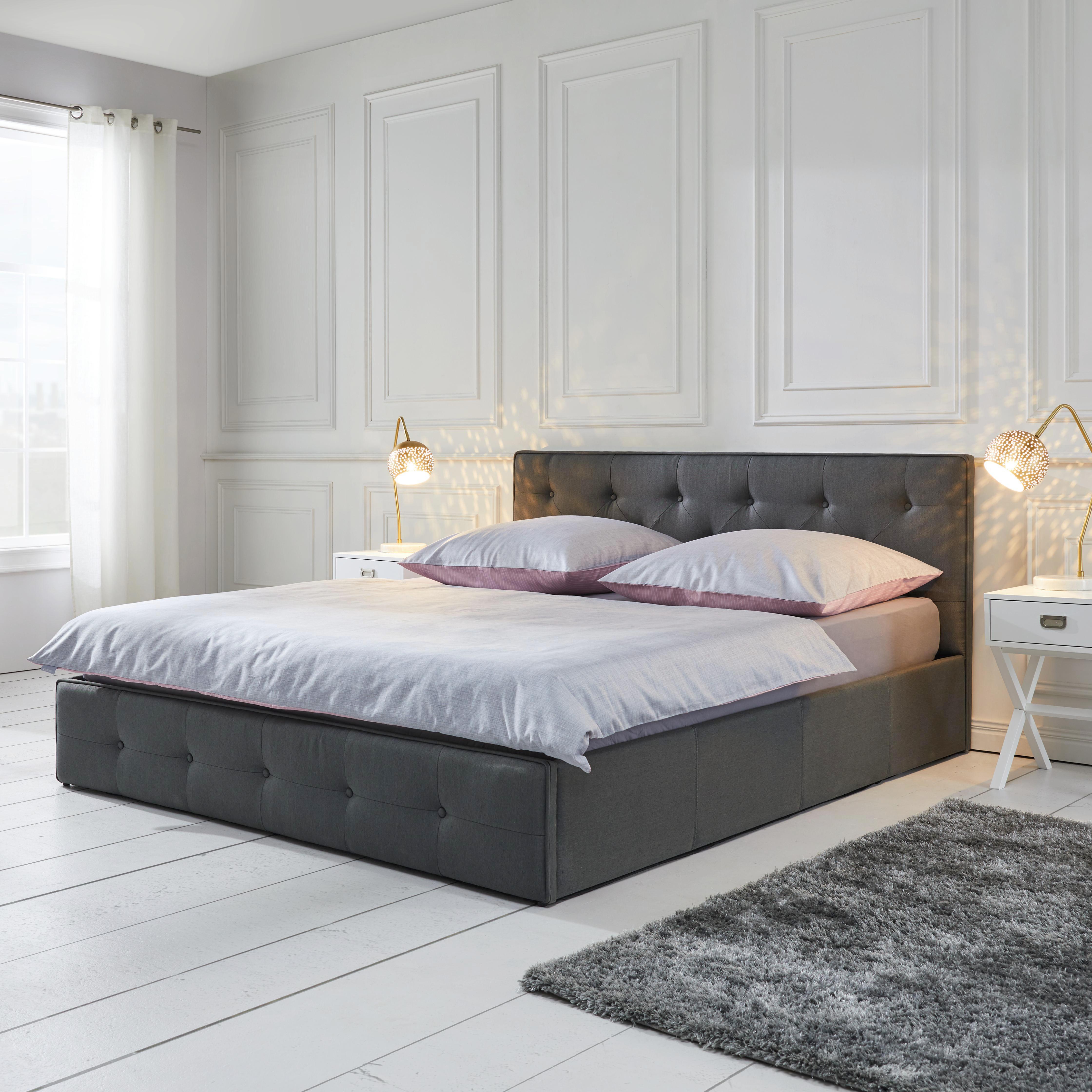 Komplett Schwarzes Schlafzimmer | Schluss Mit Weißen Möbeln Und ...