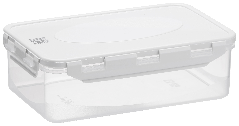 BPA-frei grün //... Rotho Domino 4er Set Vorratsdosen Kunststoff