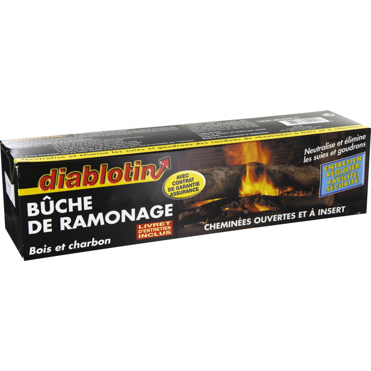 Ramonage Cheminee Vannes Bûche De Ramonage Diablotin