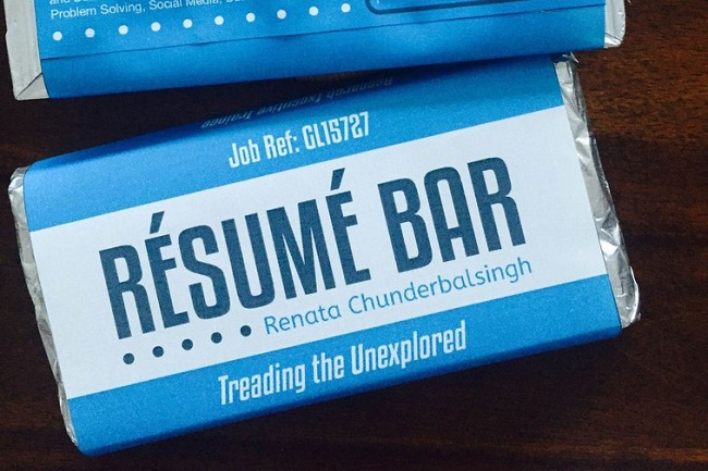 Out-of-the-box things people have done to get their resumes noticed