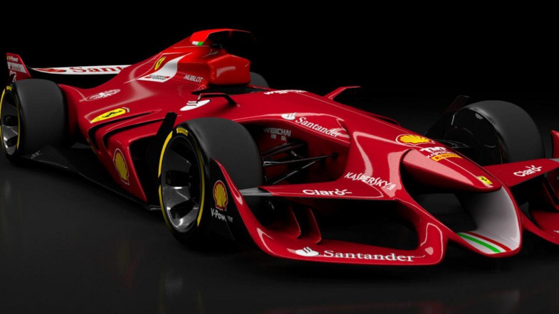 F1 2017 Car Wallpaper F1 2017 Marchionne Vede Il Futuro Ferrari In Formula E