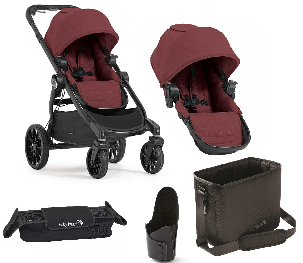 Baby Jogger City Select Baby Jogger City Select Lux Port With Free Second Seat Accessories