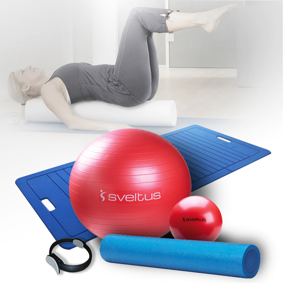 Tapis Fitness Doctor Sveltus Pack Pilates - Accessoires Fitness - Musculation.fr.