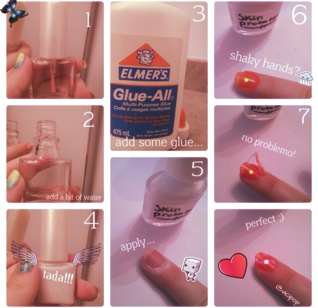 You Can Use Use Elmer39s Glue To Protect Nails From Getting