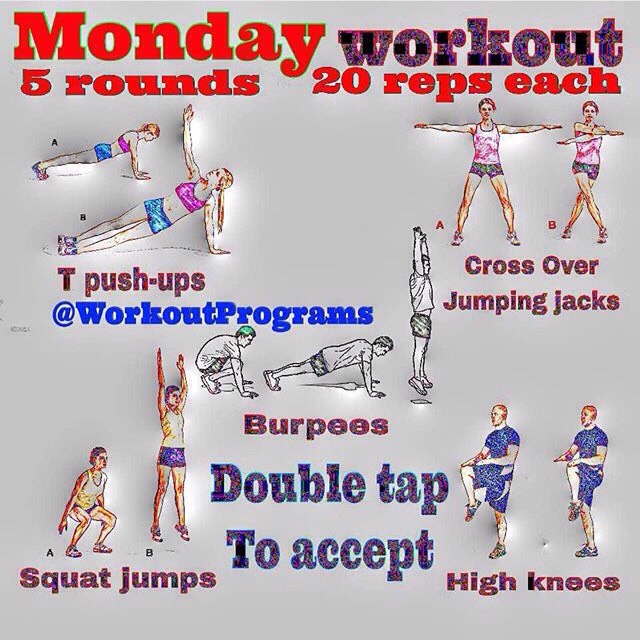 Weekly Exercise Plans On How To Become Fit  Skinny In No Time