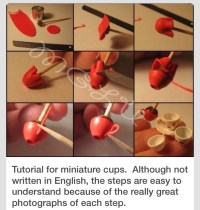 How To Make Mini Tea Cups! - Musely