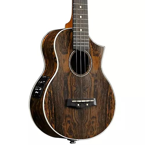 Ibanez Ukulele Ibanez Aew13e Exotic Wood Acoustic-electric Ukulele Open Pore | Musician's Friend