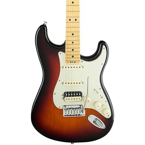 Fender American Elite Stratocaster HSS Shawbucker Maple Fingerboard
