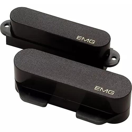 EMG EMG-T Single-Coil Telecaster Active Pickup Set Black