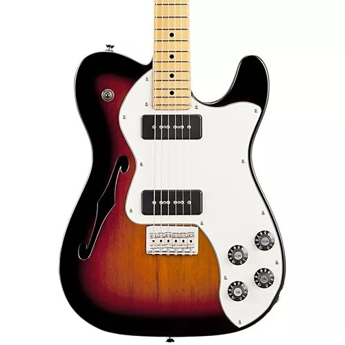 Fender Modern Player Telecaster Thinline Deluxe Electric Guitar 3