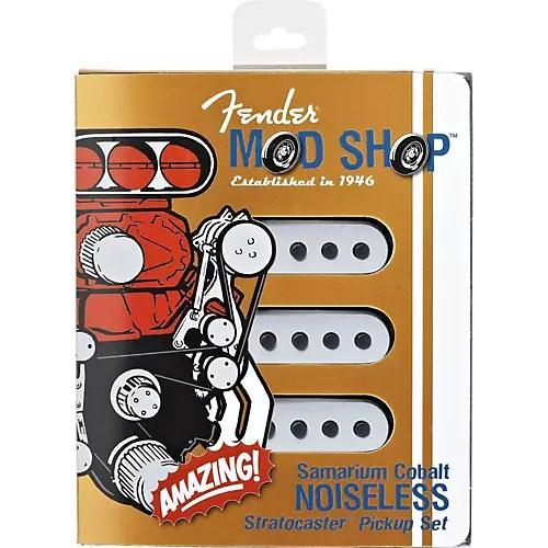 Fender SCN Samarium Cobalt Noiseless Stratocaster Pickup Set