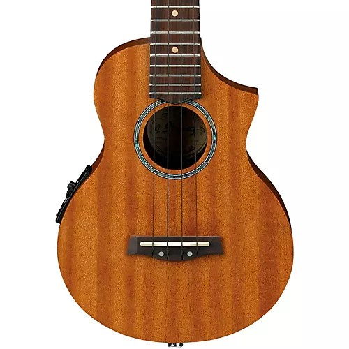 Ibanez Ukulele Ibanez Uew5e All Mahogany Concert Acoustic-electric Ukulele Natural | Musician's Friend