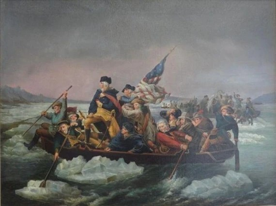 Emanuel Gottlieb Leutze George Washington Crossing the Delaware