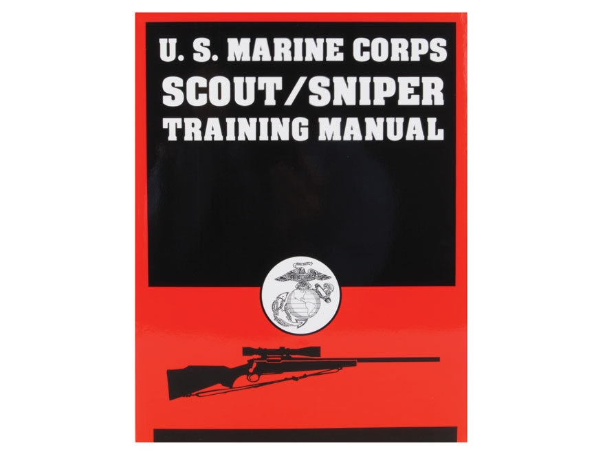 US Marine Corps Scout/Sniper Training Manual Book by United States