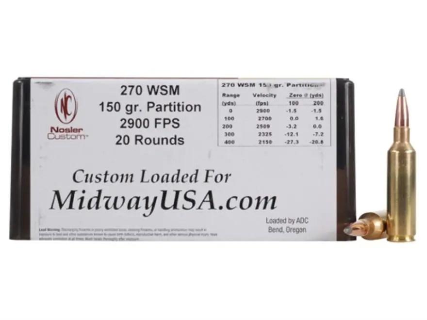 270 Winchester Short Magnum - MidwayUSA