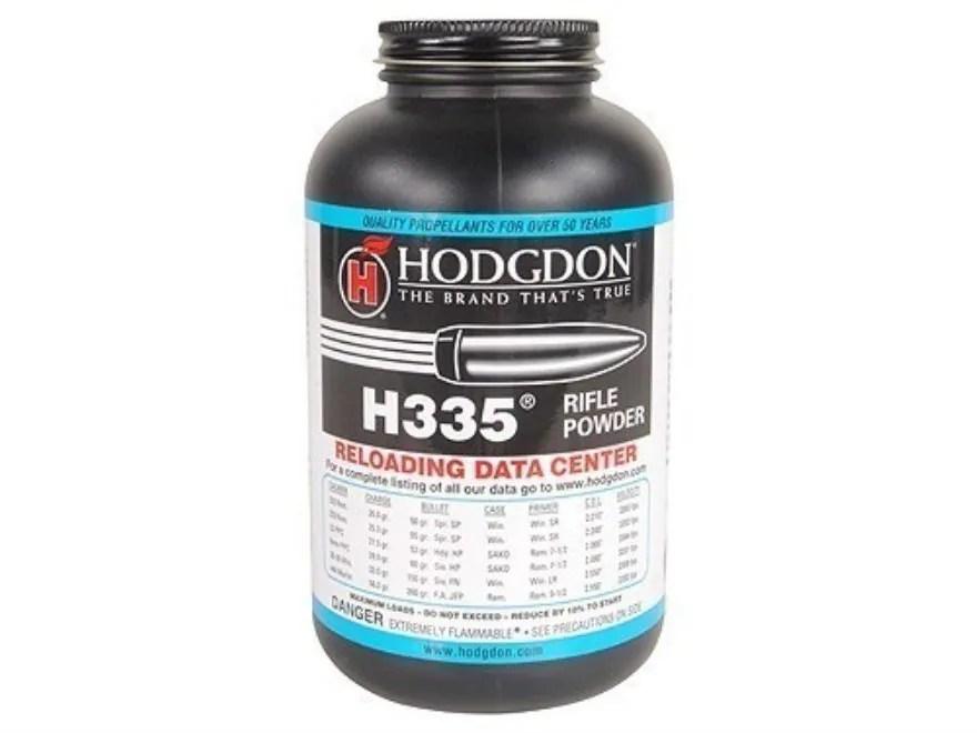 Hodgdon H335 Smokeless Gun Powder 1 lb