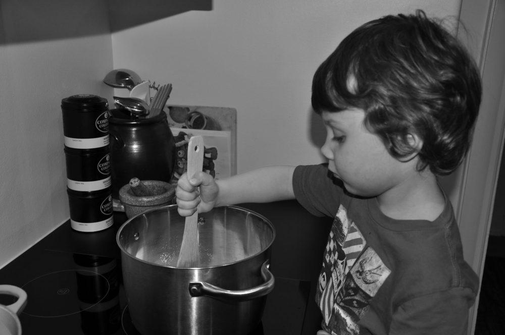 laga mat tillsammans med ditt barn