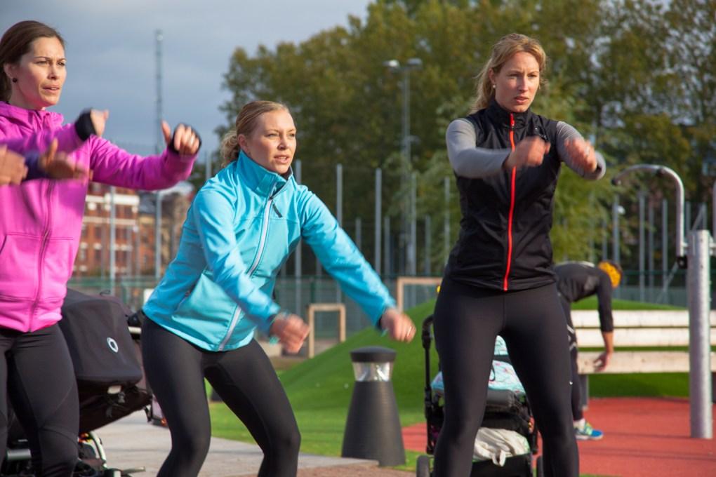 Strong Mum träning i Göteborg