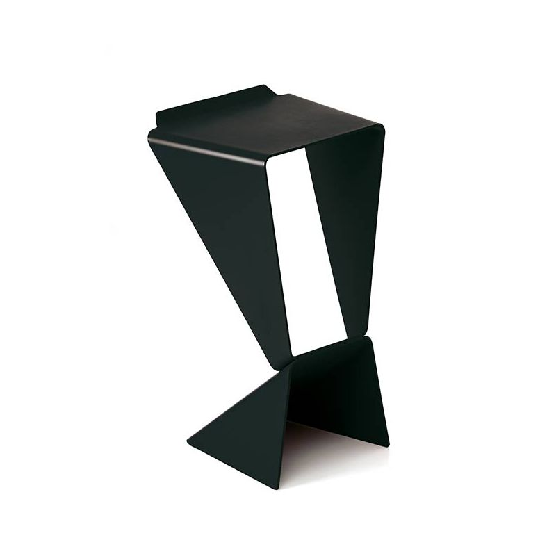Tabouret De Bar Alu Icon, Tabouret De Bar B-line En Alu Design M. Demacker