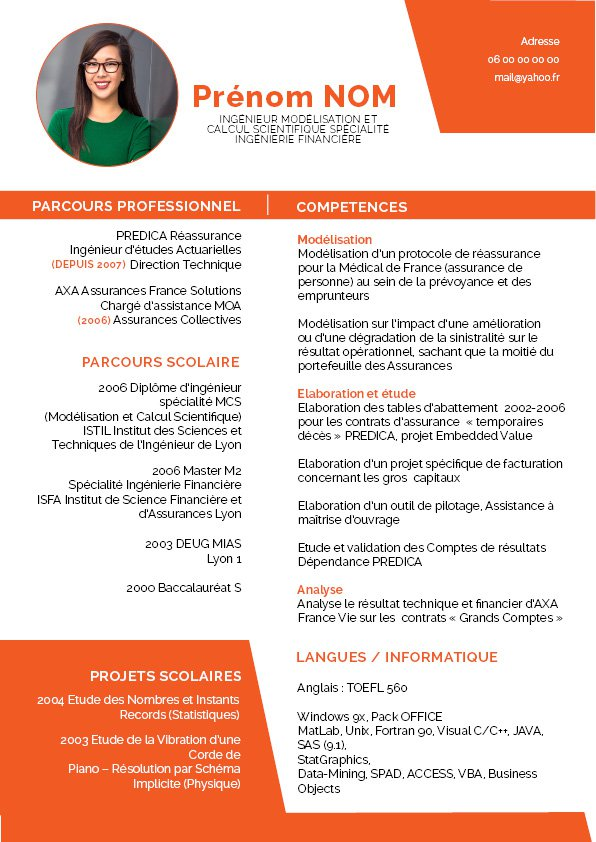 modele cv original design competences
