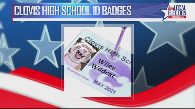 Student ID Cards  Display Lanyards Issued To Clovis High School