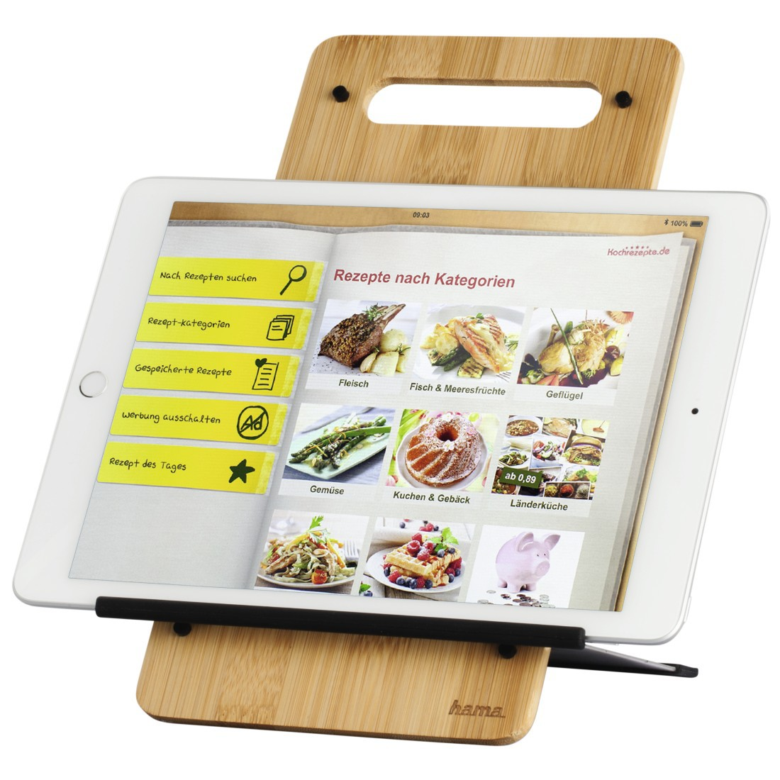 Tablet Küche Hama Tablethalterung