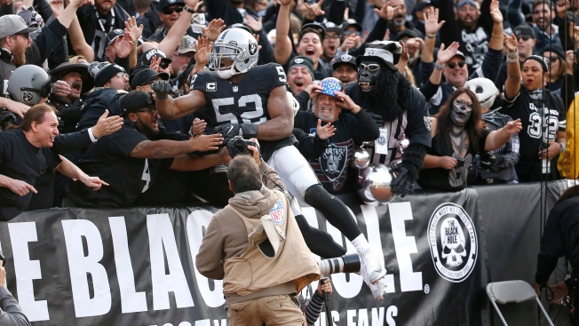 Raiders Fans in Oakland Biggest Losers in Khalil Mack Deal - NBC Bay