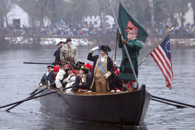 Low levels in Delaware River Could Keep Washington Crossing Re