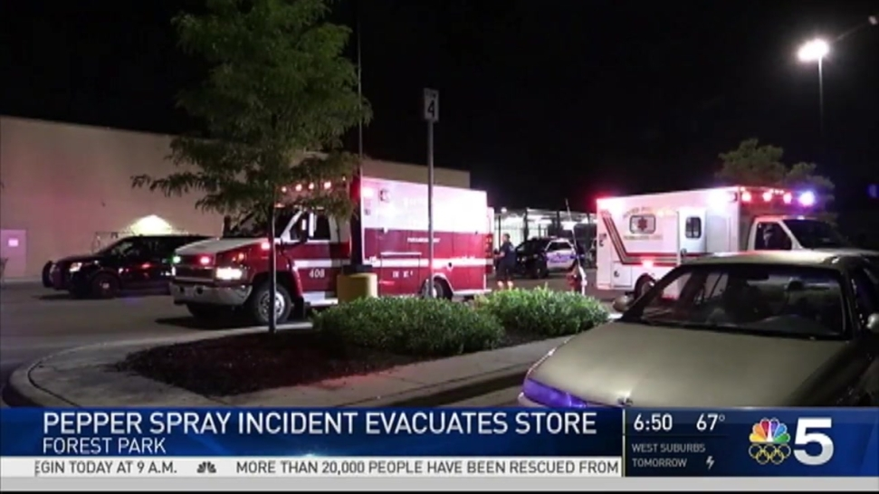 Suburban Walmart Evacuated After Pepper Spray Incident - NBC Chicago