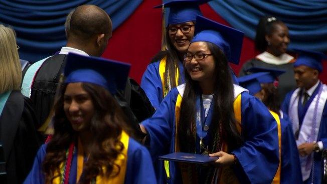 North Dallas High School Graduates Nearly 70 Refugees - NBC 5 Dallas