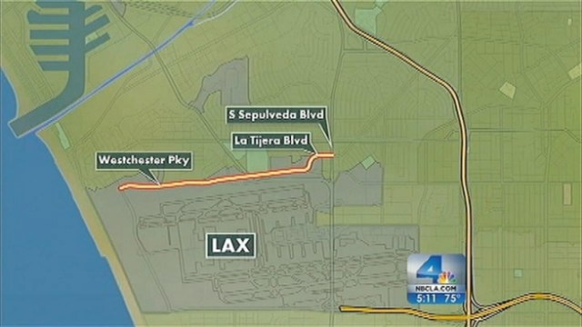 There will be a few spots along Endeavour's route through South Los Angeles streets where gawkers can catch a glimpse of the massive space shuttle, but LAPD officials say access will be limited and security will be significant during its final leg toward the California Science Center. Patrick Healy reports from Inglewood for the NBC4 News at 5 p.m. on Oct. 4, 2012.