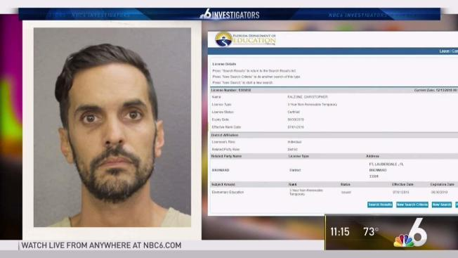 Former Substitute Teacher Gets State License After Being Fired - NBC